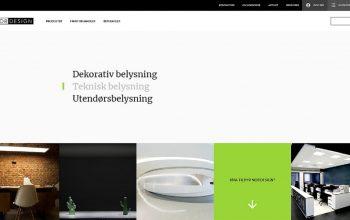 Ny hjemmeside / webshop
